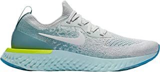 Nike Womens Epic React Flyknit Running Shoes(Platinum, 9 B(M) US)