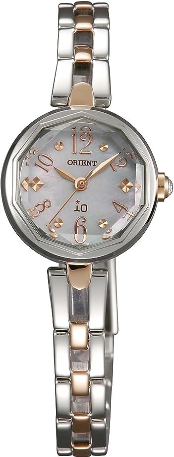 ターミナル不安定パッド[オリエント]ORIENT 腕時計 io イオ スイートジュエリー ソーラー マスコミモデル WI0191WD レディース