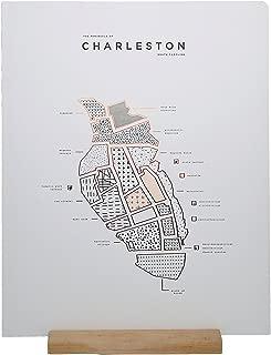 ROAM by 42 Pressed Charleston Map Print