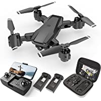 HR H3 RC Quadcopter Drone w/Camera 2 Batteries and Carrying Case Deals