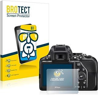 BROTECT Protector Pantalla Cristal Compatible con Nikon D3500 Protector Pantalla Vidrio Dureza 9H AirGlass