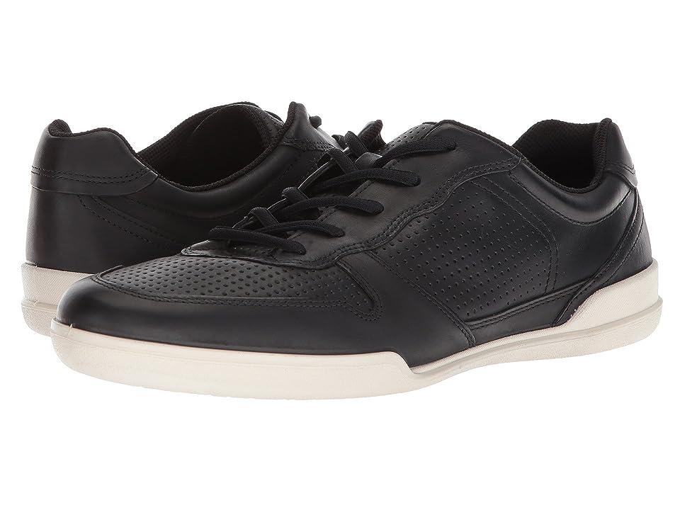 ECCO Enrico Perf Sneaker (Black) Men