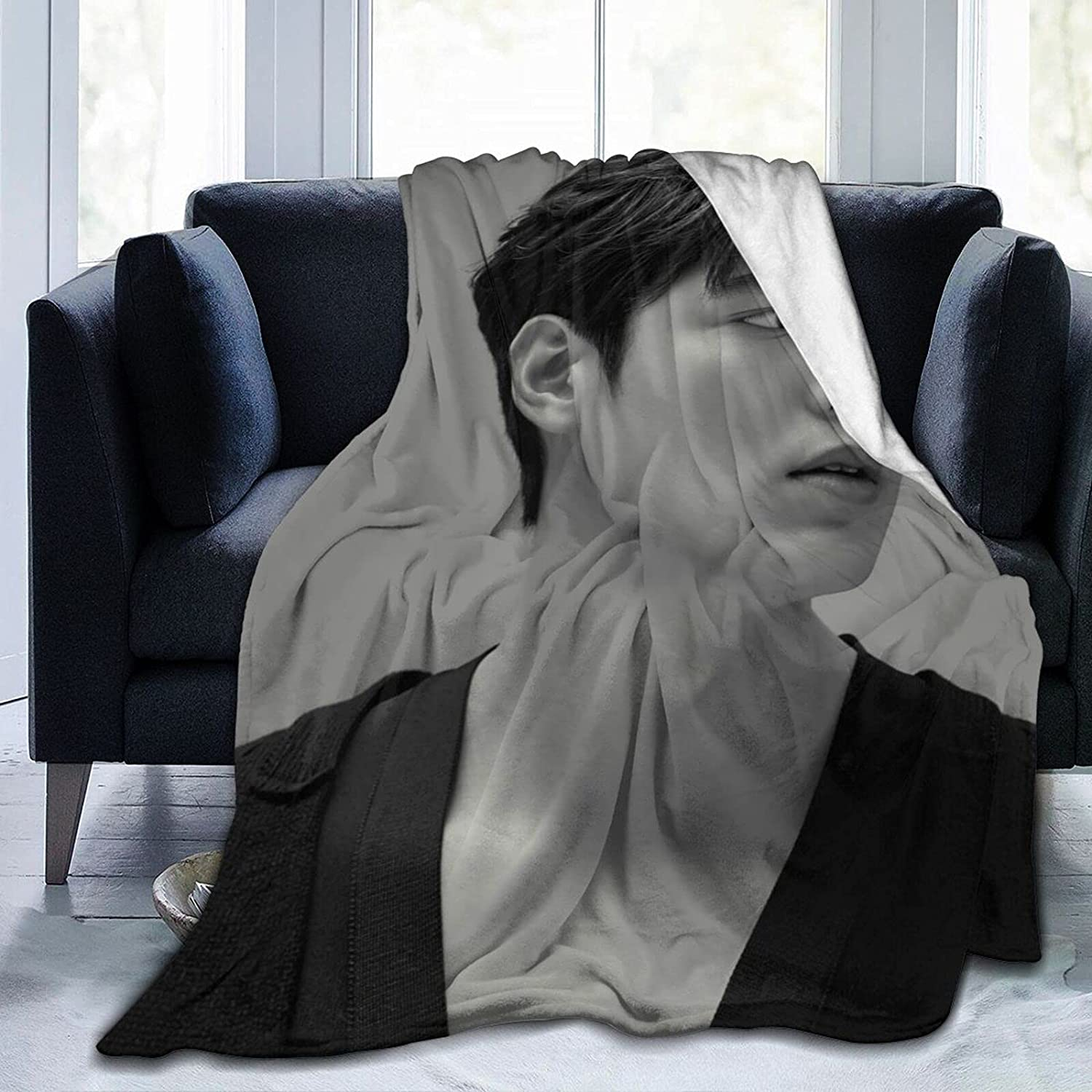 Lee Min-Ho Soft Ranking TOP2 Throw Blanket Decorative Popular Bedspre Fashion Easy-to-use