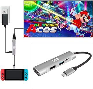 USB Type C to HDMI Digital AV Multiport Hub, USB-C (USB3.1) Adapter for Nintendo Switch, Samsung DEX Mode, MacBook Pro and...