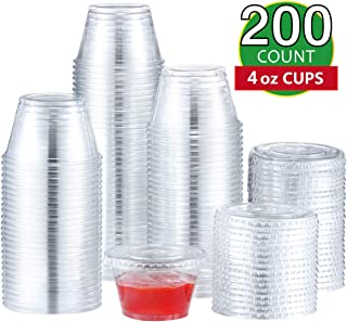 Best 4 oz disposable cups with lids Reviews