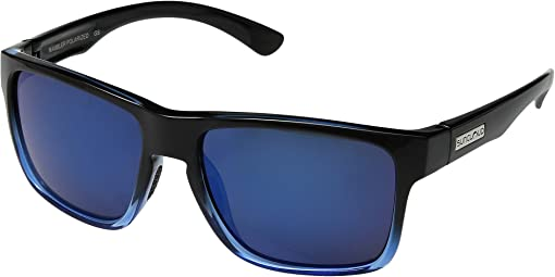 Black Blue/Polarized Blue Mirror Polycarbonate Lens