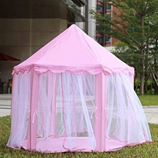 Other Portable Princess Castle Play Tent Activity Fairy House Fun Indoor Outdoor Playhouse Toy