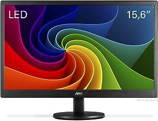"Monitor LED AOC 15,6"" Widescreen VESA - E1670SWU-WM"