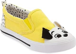 Disney 101 Dalmatians Slip-On Sneakers for Kids - Disney Furrytale friends Yellow