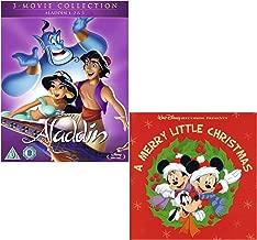Aladdin Complete Collection Box-Set - Disneys A Merry Little Christmas - Walt Disney Bundling Blu-ray + CD