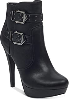 G By Guess Womens Dalli Closed Toe Ankle Fashion Boots,...