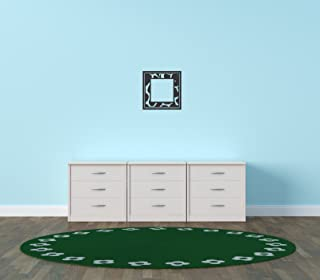 Design with Vinyl Black - Star 1170 Frame Inside Blank Home Decor Bedroom Living Room Boarder Vinyl Wall Decal, 21-Inch x ...
