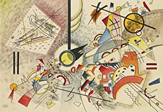 Berkin Arts Wassily Kandinsky Giclee Canvas Print Paintings Poster Reproduction(Untitled 8)