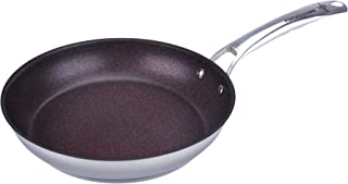 HISTORY - Forged in Fire - Stainless Steel Skillet – 11.5-Inch with 5 Layer Fire Glide Never Stick Coating