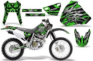 CreatorX Honda Xr 400 Xr400 Graphics Kit Decals Stickers Bolt Thrower Green
