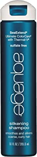 AQUAGE Sea Extend Silkening Shampoo, 10 Fl Oz
