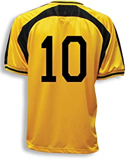 Old School Soccer/Football Jersey (in several colors), Customized With Your Number On Back