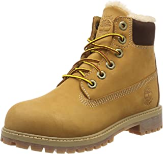 Timberland 添柏岚 中性童 6英寸经典靴