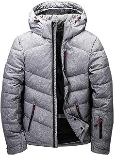 [LZL] ダウンジャケットメンズ ダウンコート大きいサイズビジネス防寒ショート丈 軽量down jacketダークダウンスポーツダウン暖かいフード付きシンプル 冬ブルゾンカジュアルお兄系コーディネート無地