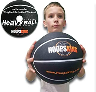 HoopsKing Weighted Basketball with Training DVD, 28.