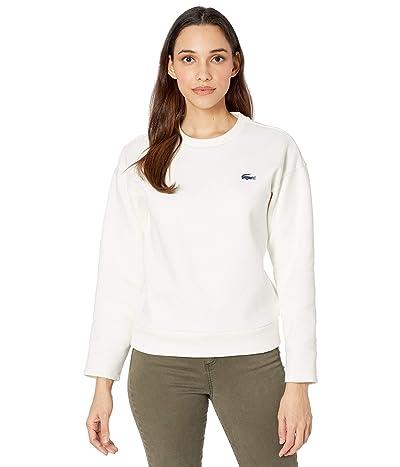 Lacoste Long Sleeve Big Croc On Chest Sweatshirt Women