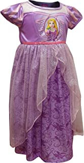 Disney Girls' Rapunzel Dress Like A Princess Fantasy Nightgown