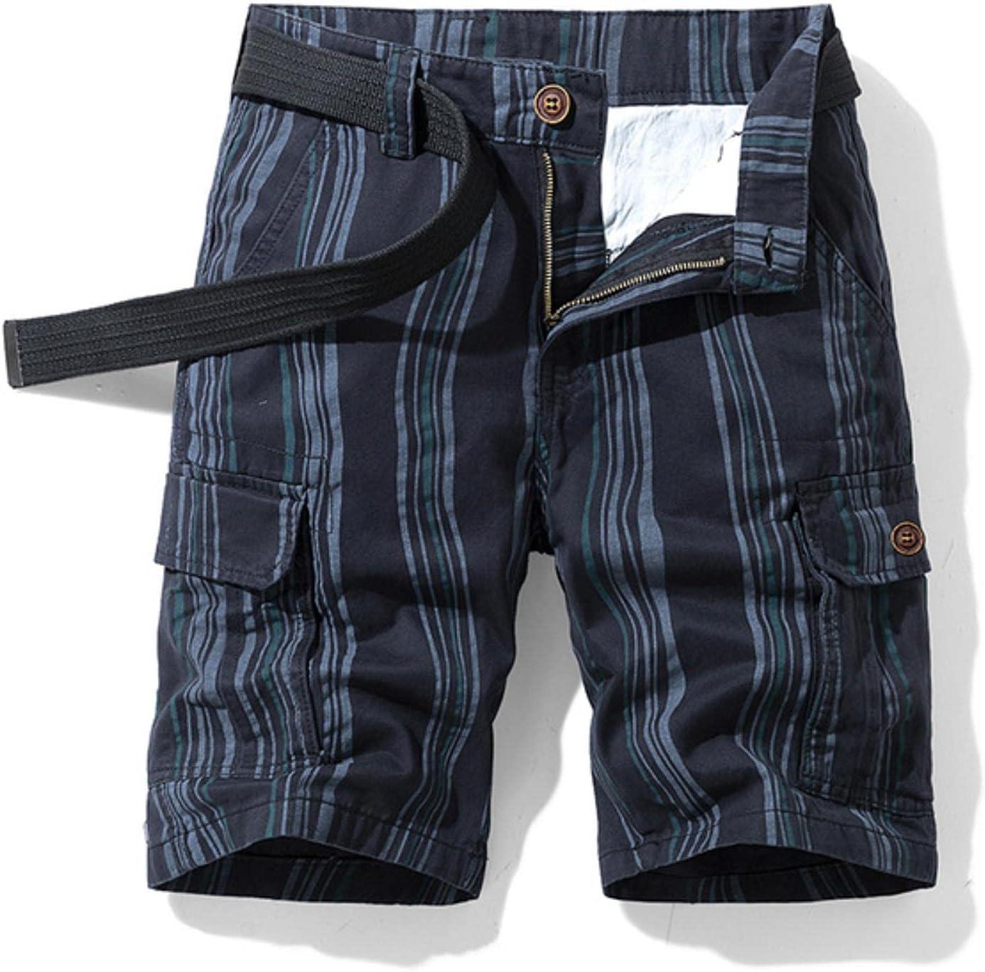 WoJogom 2021 Spring Men Cotton Cargo Shorts Clothing Summer Casual Breeches Fashion Beach Pants Cargo Short Men