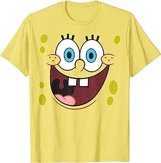 Spongebob Squarepants Bright Eyed Smiling Face T-Shirt T-Shirt