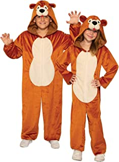 Forum Novelties Child's Teddy Bear Costume Jumpsuit, As Shown, Large
