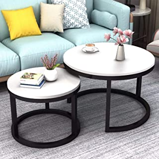Best modern white coffee table set Reviews