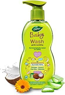 Dabur Baby Wash: pH 5.5 balanced with No Harmful Chemicals & Tear Free Formula |Contains Aloe Vera & Calendula |Hypoallerg...