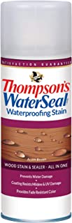 Thompson's Water Seal TH.012541-18 Waterproofing Stain - Aerosol, Acorn Brown - 11.75 ounce