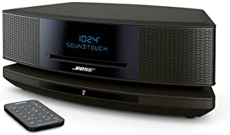 Bose Wave SoundTouch Music System IV, works with Alexa, Espresso Black