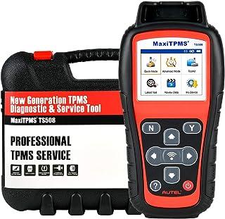 Autel MaxiTPMS TS508 2021 Neueste RDKS Anlerngerät, Programm MX Sensoren (315/ 433MHz), Reifensensor Neu Lernen/Aktivieren, Schlüssel Anhänger Singal Check, Upgraded Ver. von TS501, TS408