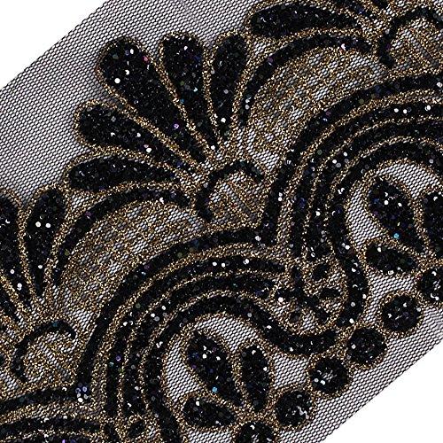 5Y Lace Cord Trim Fabric DIY Craft Trimming Sew on Dress Wedding Floral Applique Apparel Accessories Trim T2556
