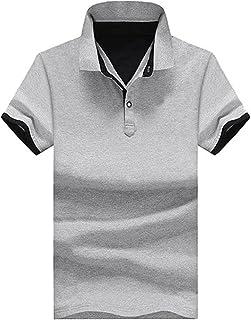 [ Smaids x Smile (スマイズ スマイル) ] ポロシャツ Tシャツ トップス 半袖 襟 レイヤード ボタンダウン 重ね着 メンズ