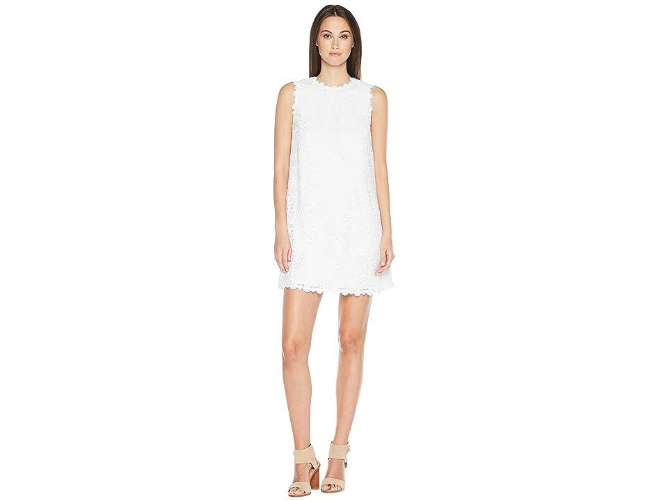 Kate Spade New York Lace Shift Dress (Fresh White) Women