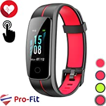 Pro-Fit Touch VeryFitPro Fitness Tracker IP68 Waterproof Smart Watch Heart Rate Monitor Step Counter (ID107C)
