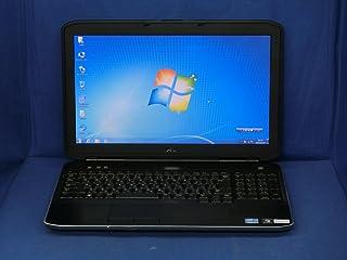 【中古】 デル Latitude E5530 ノートパソコン Core i5 3320M メモリ4GB 500GBHDD DVDスーパーマルチ Windows10 Professional 64bit P28G