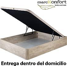 marckonfort Canapé abatible 150X190 de Gran Capacidad con