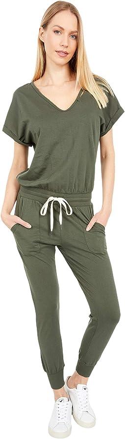 Space Short Sleeve Jumpsuit