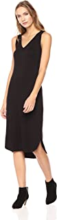 Amazon Brand - Daily Ritual Women's Jersey Sleeveless V-Neck Dress
