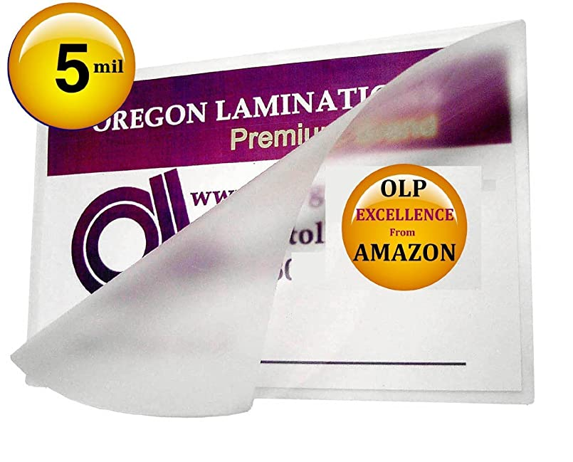 (Ship From USA) Qty 200 5 Mil 6 x 9 Laminating Pouches Hot Laminator Sleeves / Oregon Laminations Offers Authentic Oregon Lamination Premium Laminating Pouches via AMAZON. NO Other Seller Has Authent gnidgwyu7