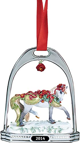 Breyer Bayberry und Rosan Steigbügel Ornament