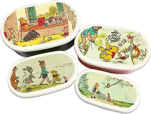 soporte minorista mayorista Winnie the Pooh Pooh Pooh 4P lunch box  tienda de venta en línea