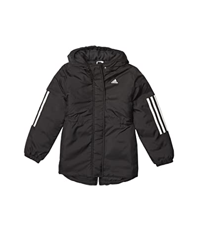adidas Kids Insulated Jacket (Big Kids) (Black) Girl