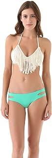 LSpace Women's Audrey Fringe Bikini Top