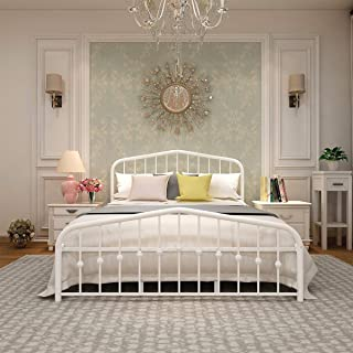 Best white bed frame and headboard Reviews