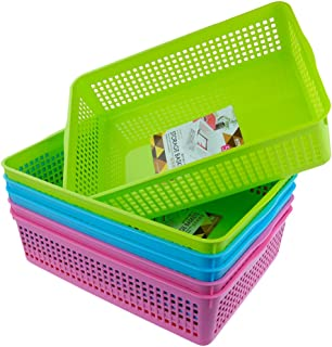 Anbers Storage Baskets/Tray Baskets, Set of 6