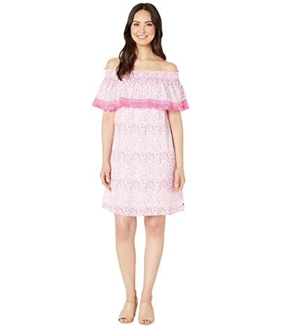Hatley Olivia Dress (Etched Mandella Pink) Women